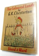 1938 The Coloured Lands (First Edition) by G.K. Chesterton
