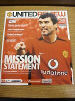 08/05/2004 Manchester United v Chelsea  . Thanks for viewing our item, if this i