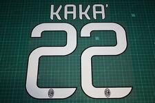 AC Milan 13/14 #22 KAKA' Homekit Nameset Printing
