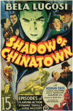 Shadow Of Chinatown 27x40 Movie Poster - Licensed | New | Usa | Theater Size [A]