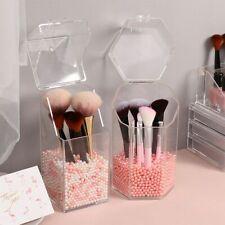 Clear Cosmetic Makeup Brush Holder Case Storage Box Display Organiser  Box