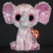 "TY BEANIE BOOS - ELLIE the 6"" ELEPHANT- MINT with MINT TAGS"