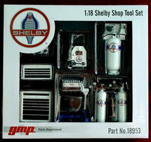 Licensed SHELBY Garage Tool Set #1 for a Diecast Display Diorama 18953 1/18  GMP