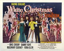 BIANCO NATALE WHITE CHRISTMAS MANIFESTO BING CROSBY IRVING BERLIN KAYE CLOONEY