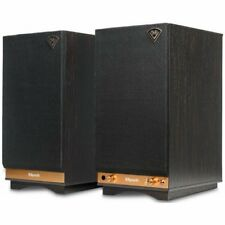 Klipsch Sixes Powered  Bookshelf Speakers Ebony (1pr) B Stock
