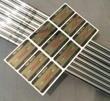 (8) TRUE TEMPER COMMAND STEEL IRON SHAFTS Regular/Stiff Combo Flex 370 Tip / 41