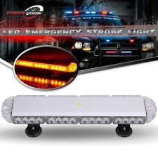 """23"""" 38 LED Strobe Light Beacon Warning Tow Truck Roof Top Amber"""
