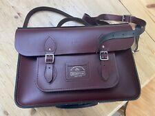 The Cambridge Satchel Company Leather Satchel Bag for BROMPTON Oxblood