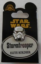 Disney WDW Cast Exclusive Star Wars Stormtrooper Elite Soldier Name Tag Replica
