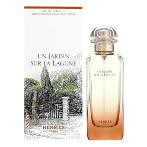 HERMES UN JARDIN SUR LA LAGUNE * 3.3/3.4oz (100ml) EDT Spray * NEW & SEALED