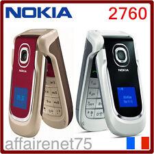 Téléphone Portable NOKIA 2760 Bluetooth MP3 Vidéo Radio Jeux Java