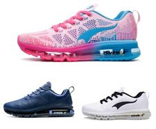 Men Running Shoes Mesh Knit Tennis Sports Winter Black Cushion Outdoor Footwear
