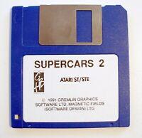 SUPER CARS 2 Supercars jeu / game for ATARI ST / STE / MEGA ST / MEGA STE