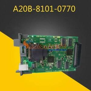 1PC Used  Fanuc A20B-8101-0770