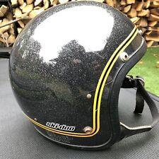 Ski Doo Helmet Vintage Metalflake Old 1970's Ski-Doo Snowmobile Motorcycle Old