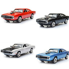 1:32 The Fast and The Furious Dodge Metal Car Model Sound Light Open Door Toy AU