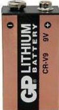 1 X Cr-v9 GP Lithium Battery 9v Pp3 Best for Smoke Detector