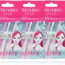 rosa SHISEIDO Prepare  Maquinilla para cejas 3 piezas
