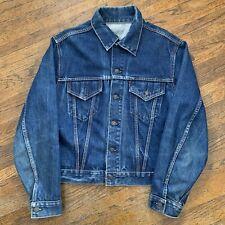 Vintage 1960s Levis Big E Type 3 Trucker Jacket Jean Denim Blue *VERY CLEAN*