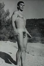 JEAN FERRERO MÄNNER AKT FOTO MALE NUDE PHOTO 60' EROTIC MODEL BUD LANTER rare