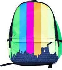 Polaroid Cameras Rainbow Color Paint Drip School Book Bag Backpack BP160734PLD