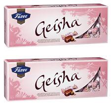 Fazer Geisha 2 x 350g Hazelnut Milk Chocolate Fazer 2 pcs