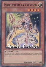 Yu-Gi-Oh ! Carte Prophète de la Création (par 2 !!) SDDC-FR019 (SDDC-EN019) VF