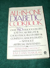 THE ALL-IN-ONE DIABETIC COOKBOOK by PJ PALUMBO, MD/JOYCE DALY MARGIE, MS 1989 PB