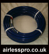 """AIRLESS PAINT SPRAY HOSE 25FT X 1/4"""" 3000PSI"""