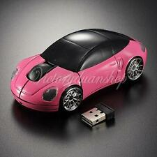 3D 2.4G Optical USB Wireless Car Mouse Mice 1600DPI For ACER TOSHIBA IMAC Laptop