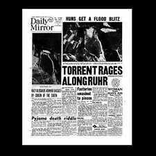 Miniatura Dollshouse GIORNALE-Daily Mirror 18 MAGGIO 1943-LA DIGA rilevatori di