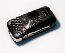 Porsche Cayenne Carbon Fiber style key sticker