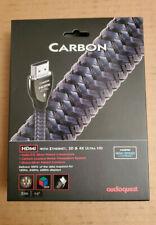 AudioQuest Carbon HDMI 3M Cable NEW