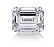 Emerald Shaped Lab-Created Loose Diamonds