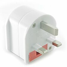 Ceptics Type M to G Converter Grounded Plug Adapter South Africa to UK 250V 13A