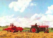 Massey Ferguson 165 Vintage Tractor Poster (A3)