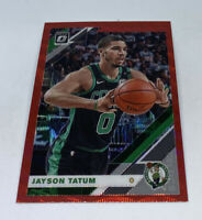 2019-20 Optic JAYSON TATUM Red Prizm Wave SP BOSTON CELTICS #82