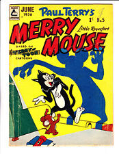 "Merry Mouse No 5 1956 - Austrailian -""Shadow Cover !  """