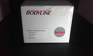 BODYLINE SANDING DISCS 150MM HOOK AND LOOP, DUSTLESS, 100 DISCS PER BOX
