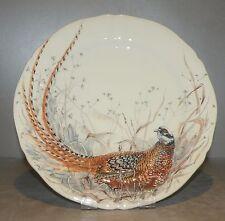 NEW Dessert Plate Pheasant , Sologne Pattern  From GIEN