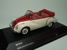 IFA F9 CABRIO 1953 White and Red 1:43  IST Models IST 019
