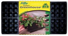 """(6) PACK JIFFY T72H 72 CELL GREENHOUSE PLANT SEED STARTER TRAY KIT 11""""X22"""""""