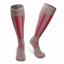 New listing Alpine Ski Performance Sports Socks Knee-High Us Women 5-7 Pink Grey Unisex