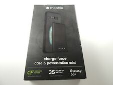 Mophie Charge Force Samsung Galaxy S8+ Plus Magnetic Case and PowerStation Mini