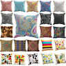 "18x18"" Bohemia Paisley Style Pillow Case Cotton Linen Sofa Cushion Cover Decor"