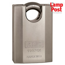 CK Kasp 190 Series K19070XD High Security Padlock Closed Shackle