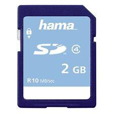 Hama Highspeed Securedigital Card 2 GB 2GB SD memoria Flash