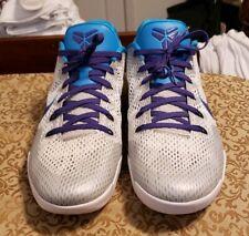 huge discount 4c5f1 63827 Nike Kobe 11 EP Draft Day White Blue Lagoon-Court Purple Sz 16