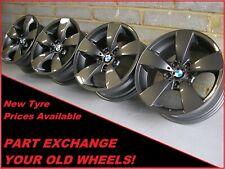 "Genuine 17"" BMW 138 5 Series E60 E61 Grey Alloy Wheels 6762001"