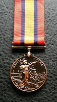 Clearance Collectable Queen Victoria South Africa Military Award Medal in copper